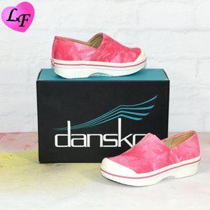 DANSKO Sneaker Pink Tie Dye Toddler 12